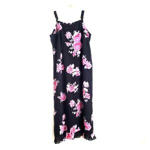 Venezia Floral Empire Waist Maxi Dress Q9